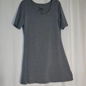Sahalie Gray Skater Dress